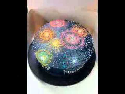 New years cake decoration ideas - YouTube