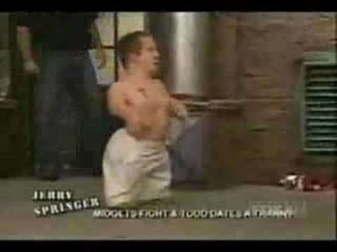 Sorry, that fight jerry midget springer