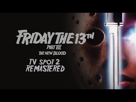 Friday The 13th Part VII  The New Blood  TV Spot #2 HD Remastered