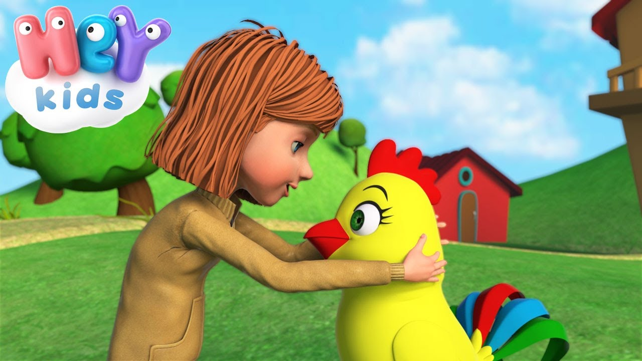 La Gallina Canzone Per Bambini Canzoniperbimbi It Youtube
