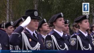 Присяга студентов Донецкого юридического института МВД