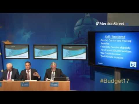 #Budget17 Press Conferences Department of Social Protection