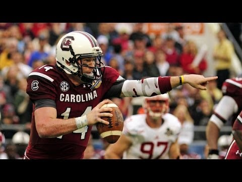 Capital One Bowl South Carolina vs Wisconsin 1/1/2014 HD