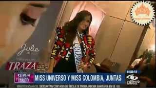 Miss Universo 2013- Maria Gabriela Isler y Miss Colombia 2014 Paulina Vega.