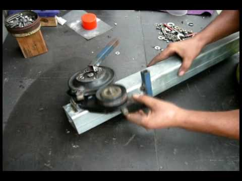 Home Made Tube Bender Youtube