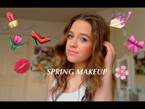 SPRING MAKEUP TUTORIAL||Kennedy Huff