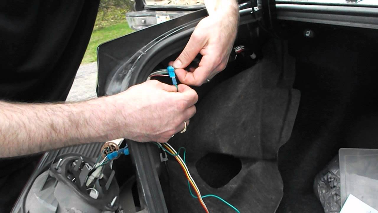 installing trailer wiring harness in 2007 toyota corolla youtube rh youtube com wiring diagram car trailer 7 pin wiring diagram for car trailer plug