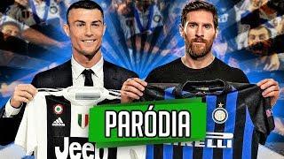 ♫ MESSI NA INTER vs CR7 NA JUVE | Paródia ‹ RALPH +10 ›