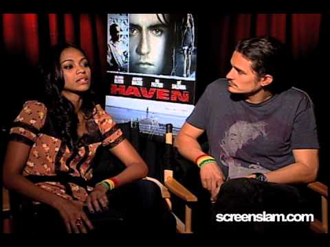 Haven: Zoe Saldana and Orlando Bloom Interview