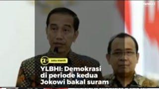 YLBHI: Demokrasi di periode kedua Jokowi bakal suram