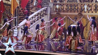 London School of Bollywood have a ball on stage! | Semi-Final 3 | Britain's Got Talent 2017