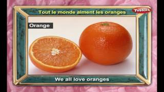 Learn Fruits Names in French | Learn French Through English | Learn French For Beginners