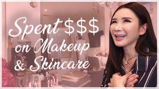 SPENT SO MUCH MONEY ON MAKE UP & SKINCARE | JAMIE CHUA