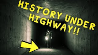 ANTIQUE BOTTLES!!! | HISTORY UNDER HIGHWAY!!! | GOING WHERE OTHERS WON'T!