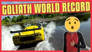 Forza Horizon 4 | GOLIATH WORLD RECORD