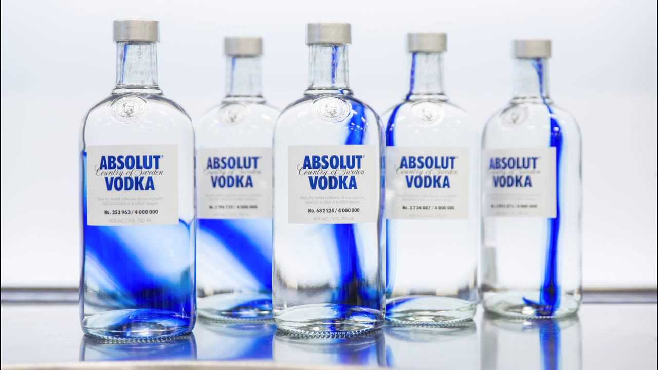 Absolut originality limited edition vodka 0. 7l.