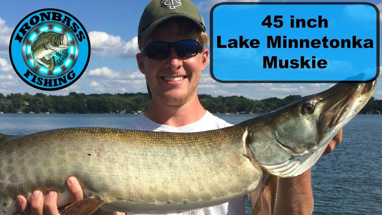 Lake minnetonka muskie fishing youtube for Lake minnetonka fishing report