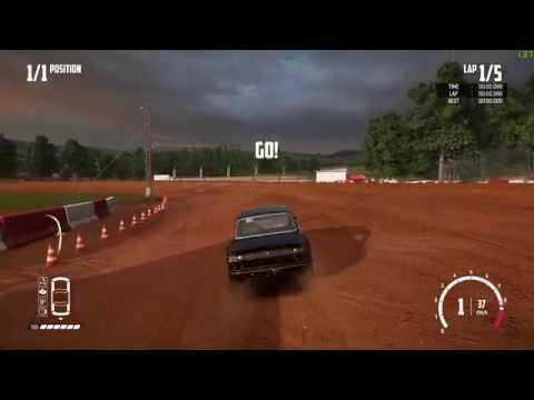 Wreckfest - Bloomfield Speedway Dirt Oval (5 Lap / A Class) [01:10.647]