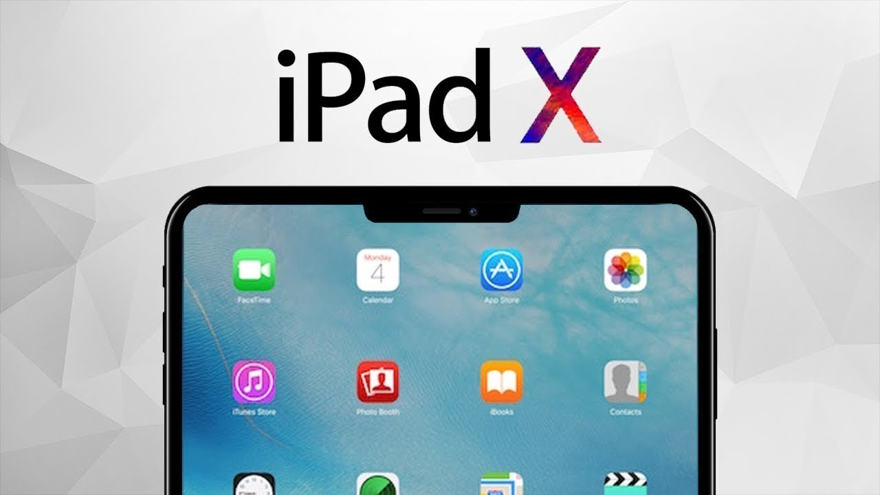 ipad x pro 2018 apple release date uk us pricing features news rumors design youtube. Black Bedroom Furniture Sets. Home Design Ideas
