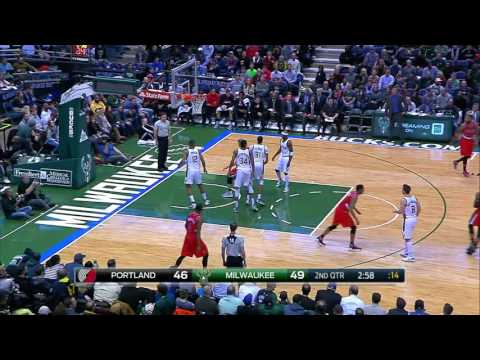 Portland Trail Blazers vs Milwaukee Bucks | December 7, 2016 | NBA 2016-17 Season