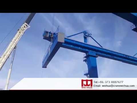 Rail Mounted Gantry Crane/RMG Crane Assembly/Installation
