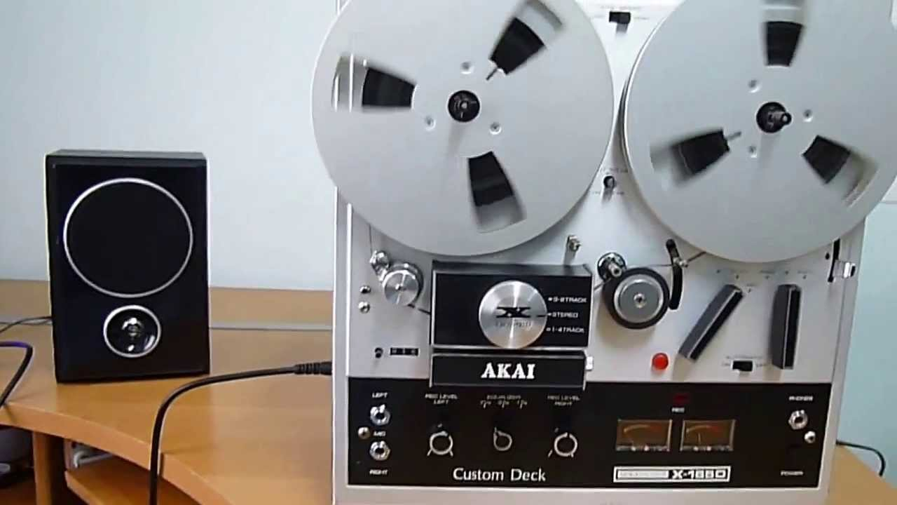 Akai X-165d Stereo Reel To Reel Tape Recorder Works  Allegro Login  Vision-perfect