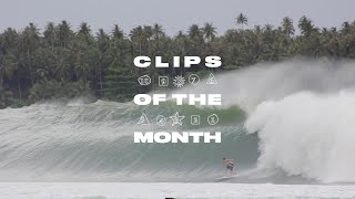Gambar cover Historic Nias Swell Dominates our Best of July List | SURFER Magazine: Clips of the Month