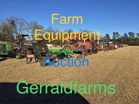 Used Farm Equipment Auction Rebel Auction Co  Gerraldfarms