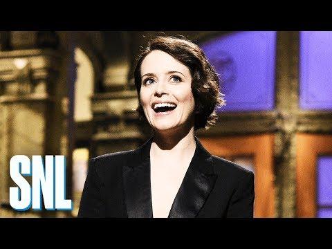 Claire Foy Monologue - SNL