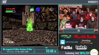 AGDQ 2015 - The Legend of Zelda Ocarina of Time Glitch Exhibition by ZFG