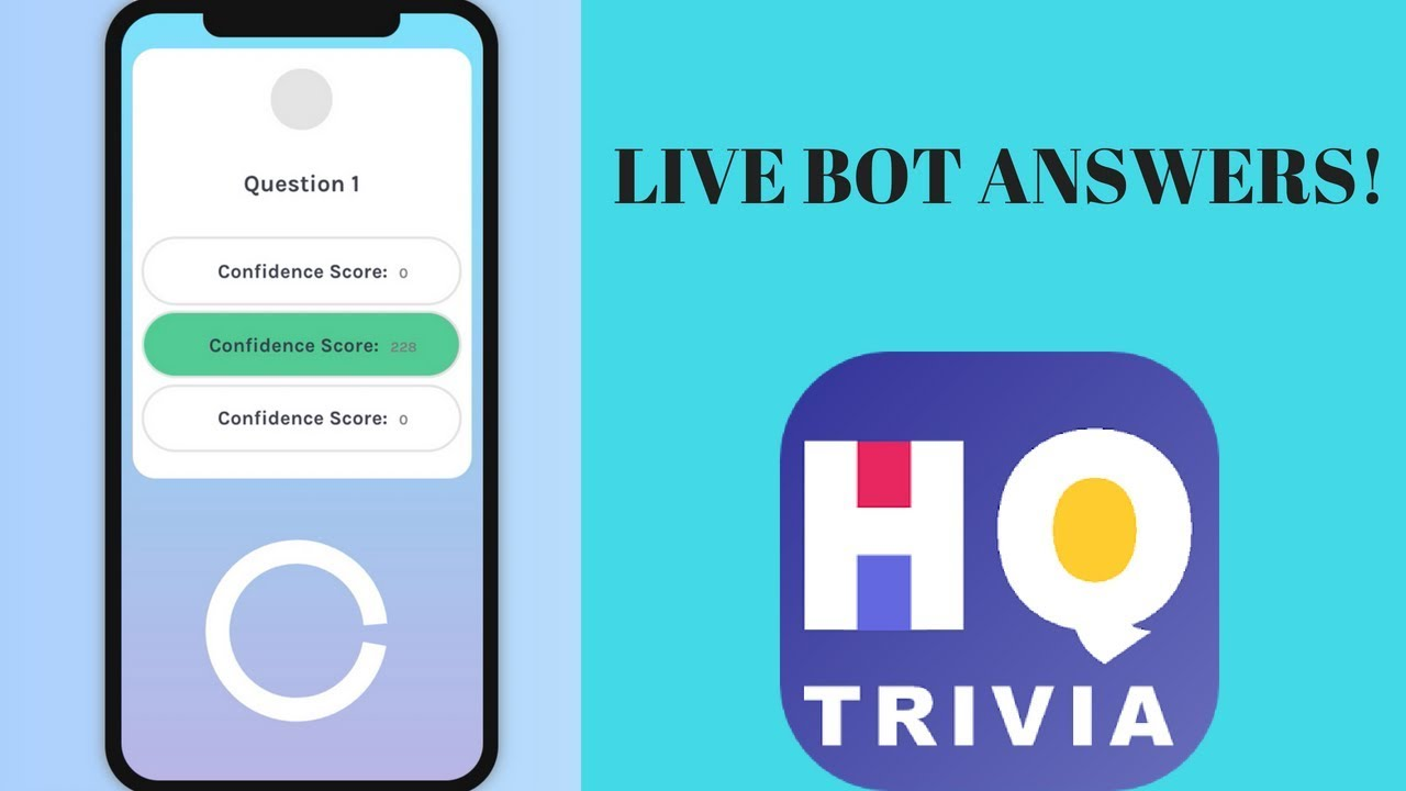 LIVE HQ Bot answers!!! Join the stream to watch and get answers!!! #3