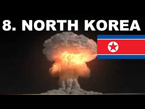 Top 10 Countries With Nuclear Weapons