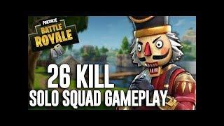 فورت نايت الجوال | 26 قتله سولو ضد سكواد ! Fortnite mobile | 26 Kills solo in squad
