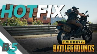 PUBG HOTFIX (Xbox One/PS4)   NEW MAP SELECTION, Early Game Hitching and Freezing Fixed...