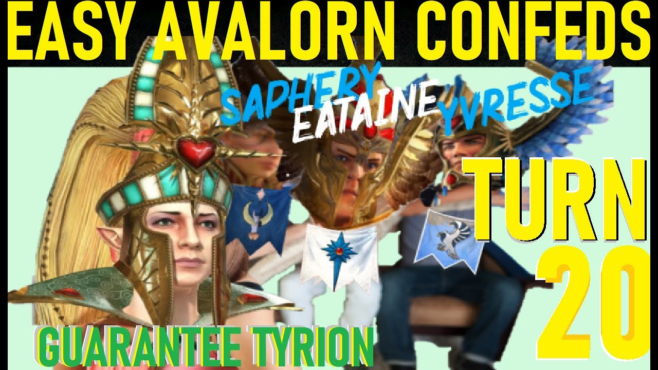 Download Avelorn EASY Tyrion & Eltharion Confederate TURN 20 GUIDE