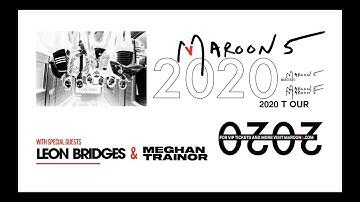 Maroon 5 2020 Tour Teaser