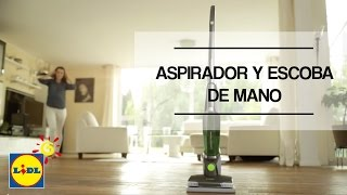 Aspirador Escoba Y De Mano Recargable Youtube
