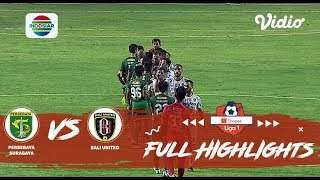 Persebaya (1) vs (1) Bali United - Full Highlight | Shopee Liga 1