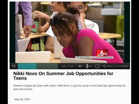 Creative Summer Jobs for Teens