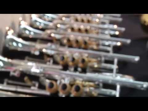 In The Factory: Making Besson Instruments | Besson brass