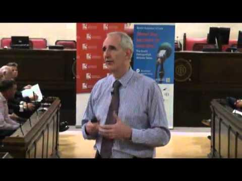 QinetiQ boss Leo Quinn at the Bristol Distinguished Address Series