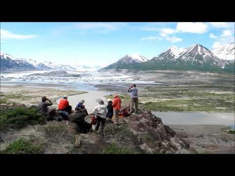 Alsek River, Lowell Lake, Lowell Glacier, Kluane National Park, Yukon