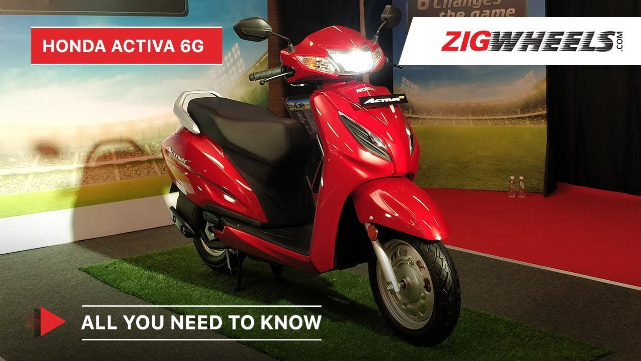 Honda Activa 6g First Look Video India S Favourite Scooter Now Overhauled Zigwheels Youtube
