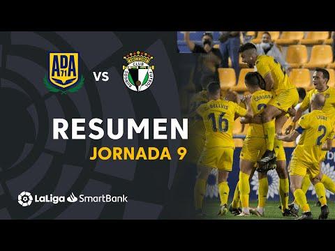 Alcorcón Burgos Goals And Highlights