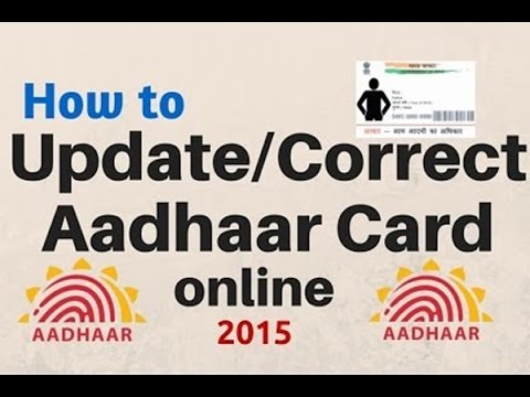 How to update mobile number in aadhar card online