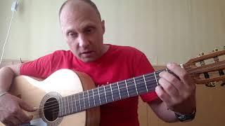 Бетховен на гитаре.Сурок.Урок 1