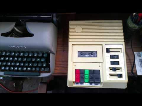 Library of Congress Cassette Player for Blind