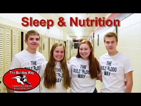 Bulldog Way Pillars - Sleep & Nutrition