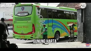 Nama-nama bus versi lagu on my way😉
