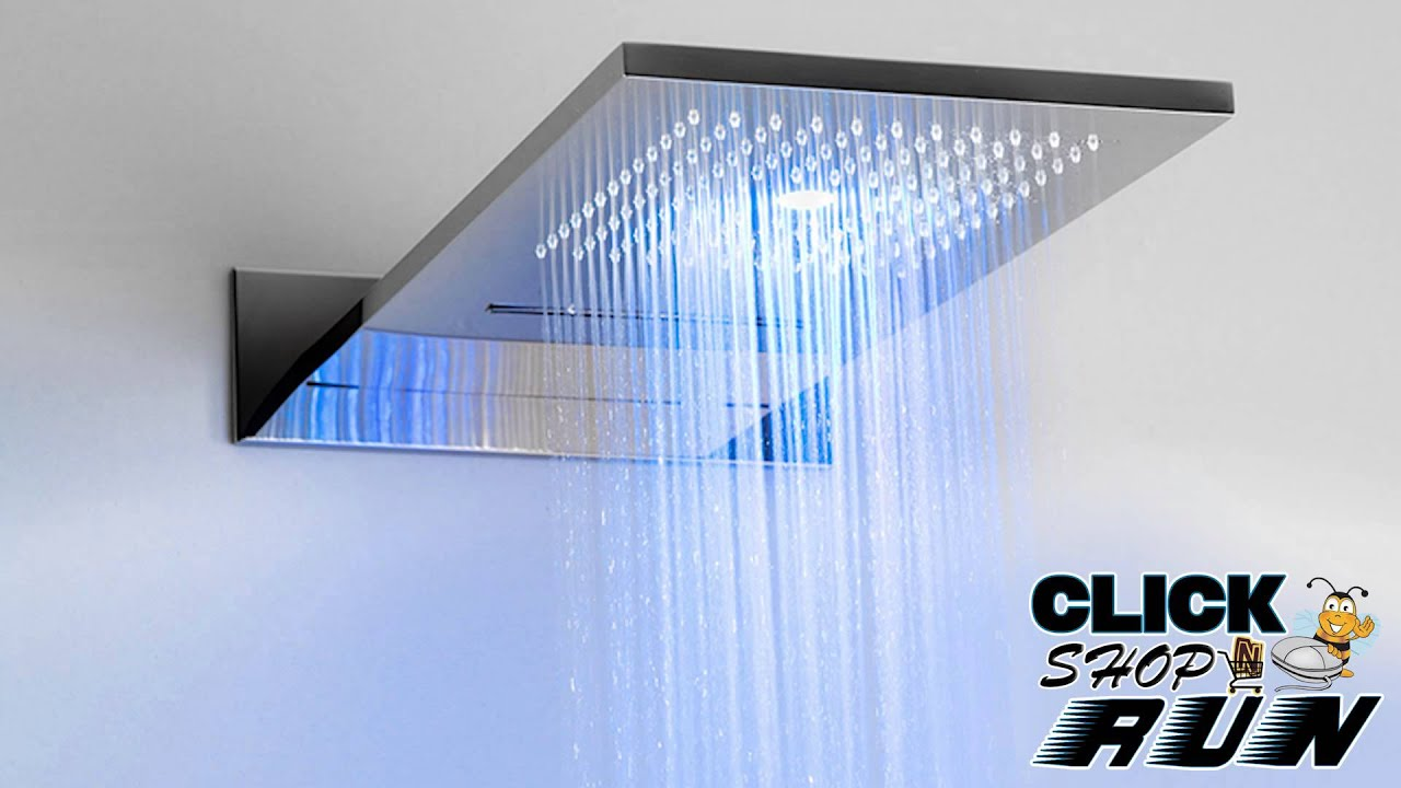 graff aquasense digital led shower system video review